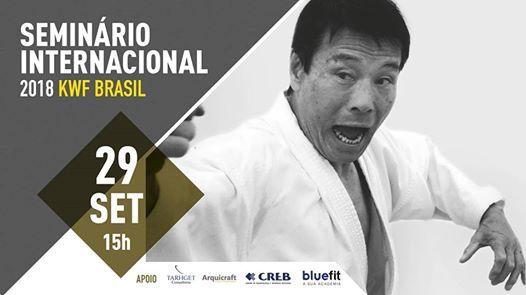 Seminrio Internacional KWF Brasil 2018 com Mikio Yahara Sensei