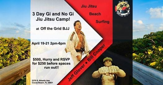 Off The Grid BJJ Seminar With Jeff Glover and Bill Cooper