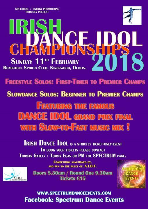 Irish Dance Idol Championships 2018