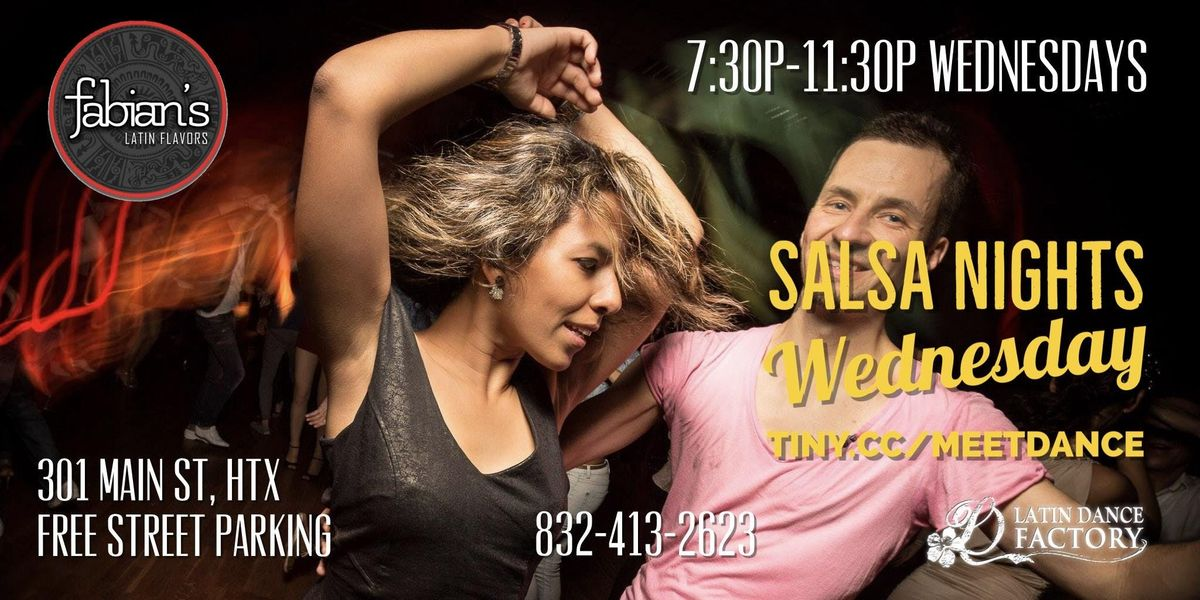 Free Tropical Salsa Wednesday Social in Houston