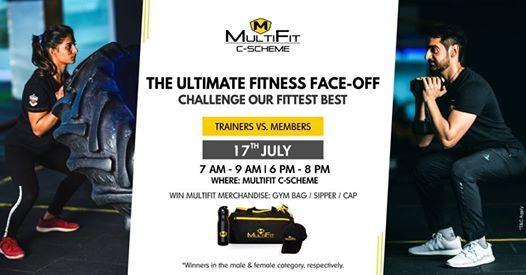 Fitness Face-Off at MultiFit C-Scheme | Jaipur