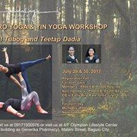 Acro Yoga &amp Yin Yoga Workshop