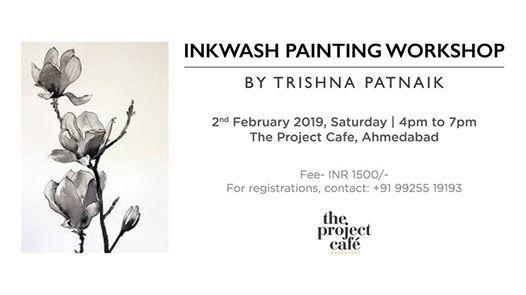 Inkwash Painting Workshop by Trishna Patnaik