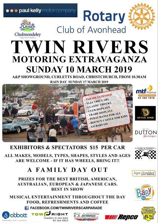 Avonhead Rotary Twin Rivers Motoring Extravaganza
