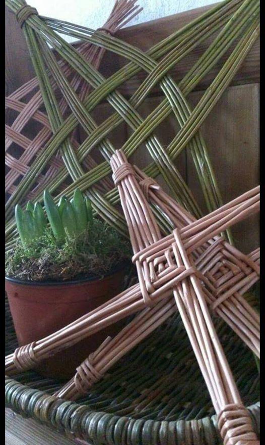 Make a Willow Saint Brigids Cross