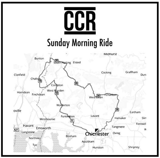 CCR Easter Sunday Ride - 21 4 19 at Chichester Festival Theatre