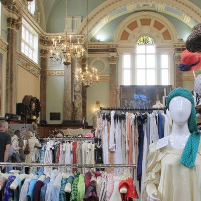 Frock Me vintage fair at Kensington Town Hall- December 2018