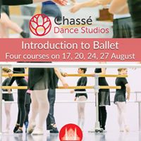 Introduction to ballet  17 20 24 &amp 27 August