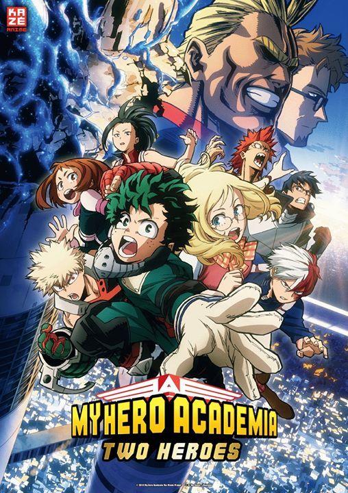 KAZ Anime Nights My Hero Academia Two Heroes in Emden