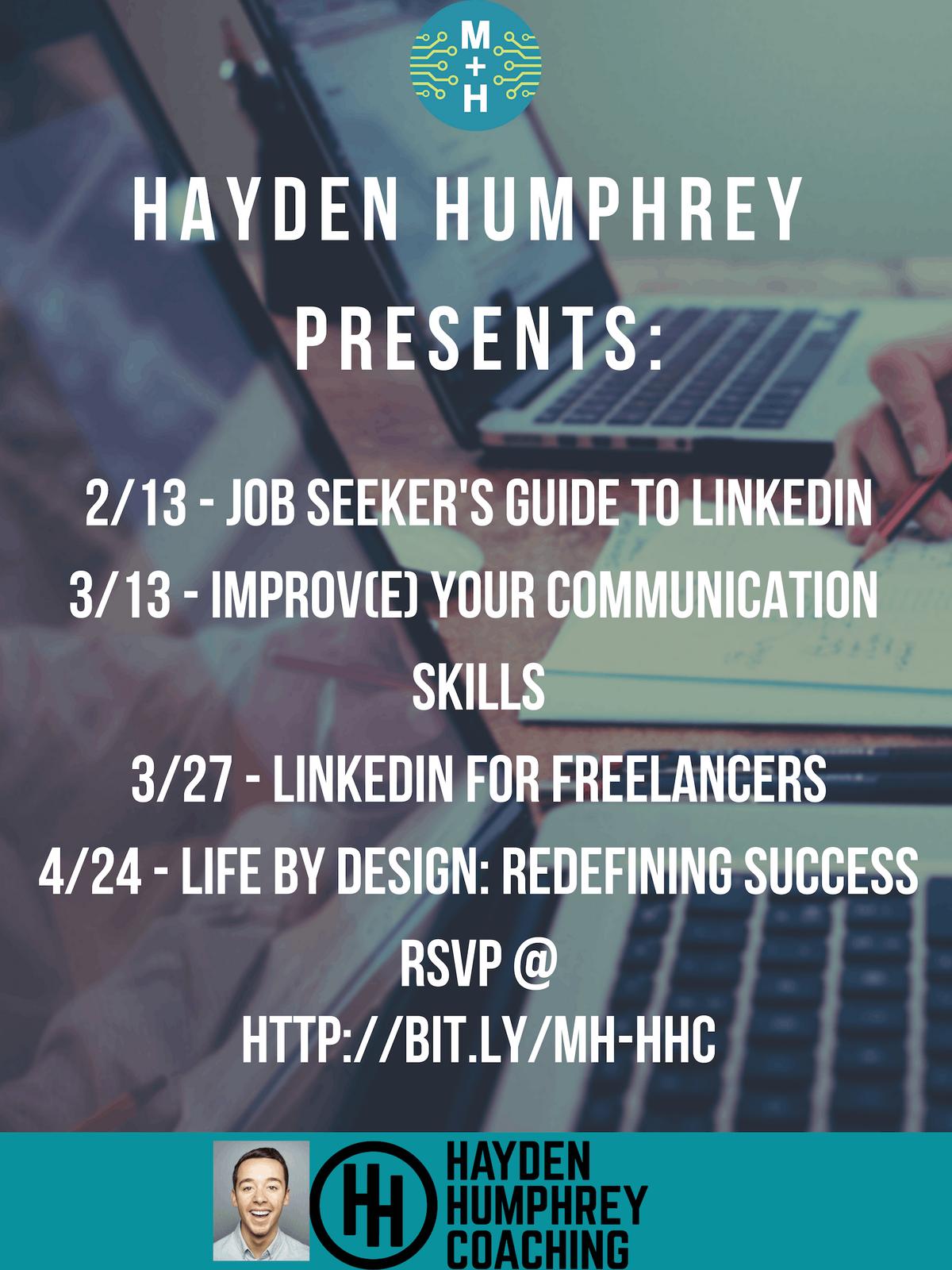 Hayden Humphrey Coaching Presents