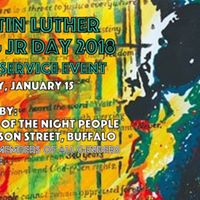 MLK Jr Day 2018 SERVICE EVENT with Friends of the Night People