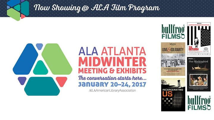 Bullfrog Films screening at ALA Midwinter 2017