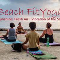 Beach FitYoga Flow on Wednesday 10am