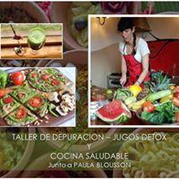 Taller Depurativo y Jugos Detox - Taller de Cocina Saludable