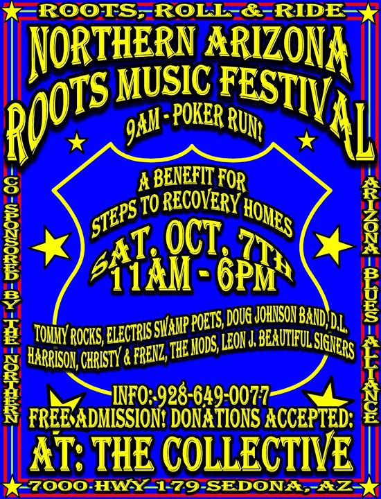 Northern Arizona Roots Festival - Roots Roll and Ride