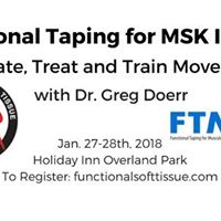 Functional Taping for MSK Injuries feat. Dr. Greg Doerr