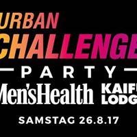 URBAN CHALLENGE PARTY by Mens Health &amp KAIFU-LODGE I Sa 26.8. I Golden Cut