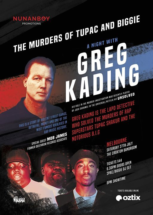 The Mder of Biggie and Tupac - A Night with Greg Kading