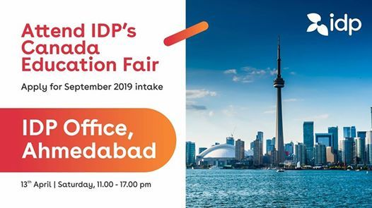 IDPs Biggest Canada Education Fair in Ahmedabad