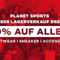 Planet Sports Lagerverkauf Dresden