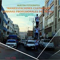 Manifestaciones culturales urbanas - profesionales de Tacna