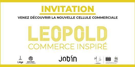 Inauguration de Lopold commerce inspir