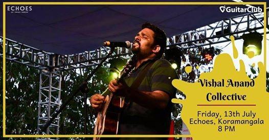 GuitarClub presents Vishal Anand Collective