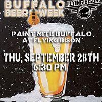 Paint Nite Flying Bison Beer Week Edition