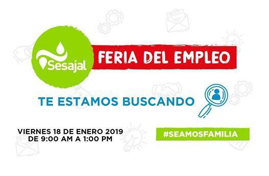 Feria del Empleo Sesajal 2019