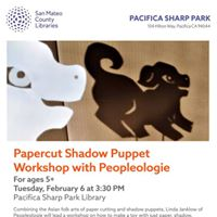 Papercut Shadow Puppet Workshop