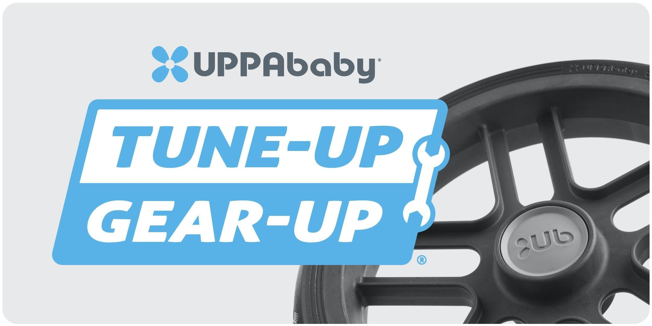 UPPAbaby Stroller Tune-UP Gear-UP at Bella Baby in Dundrum