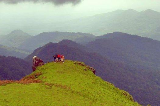 Nishani motte trek coorg sight seeing