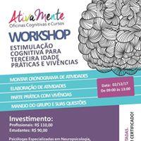 Workshop Prticas e Vivncias - Estimulao Cognitiva Idosos