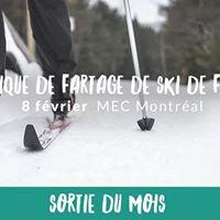Clinique de fartage de ski de fond  Longueuil