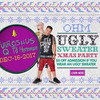 CLUB DV8s Annual Ugly Sweater Party w DJ Furroshus &amp Q