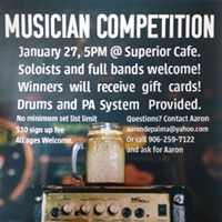 Musician Competition at Superior Cafe