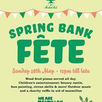 Spring Bank Fete at the British Oak