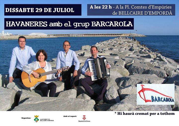 Havaneres amb el grup Barcarola