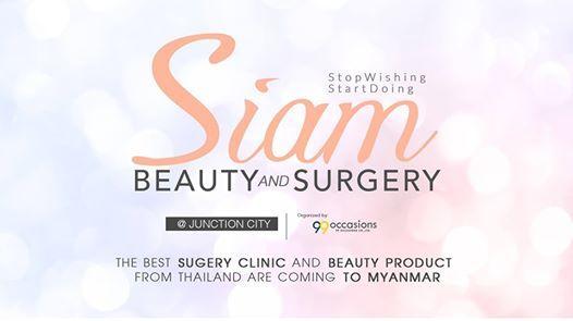 Siam Beauty & Surgery Fair at Junction City, Yangon