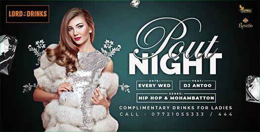 Pout Night. Feat DJ Antoo