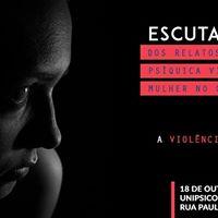 Palestra Violncia psquica vivida pela mulher no cotidiano