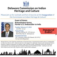Delaware Commission on Indian Heritage and Culture - Inaugural Event