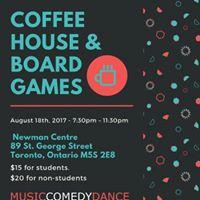 Coffee House &amp Board Games