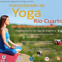 Instructorado de Yoga en Rio Cuarto