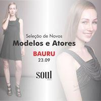 Seletiva para Novos Modelos- BauruSP
