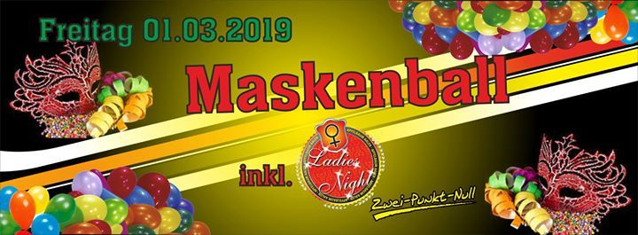Maskenball inkl. Ladies Night