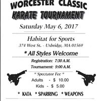 Worcester Classic Karate Tournament 2017