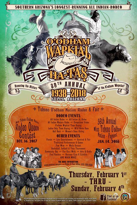 80th Annual Tohono Oodham Nation Rodeo Amp Fair At Sells Az