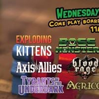 Board Game Wednesdays
