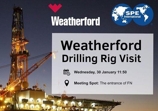 Weatherford Drilling Rig Visit at Weatherford Evaluation